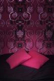 Deux oreillers roses Photo libre de droits