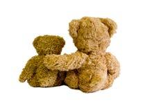 Deux ours de nounours Photo stock