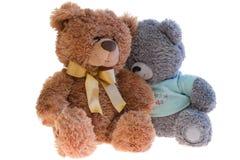 Deux ours de nounours de jouet ensemble. Photos stock