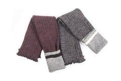 Deux paires de jambières 3 de laine du ` s de femmes images libres de droits