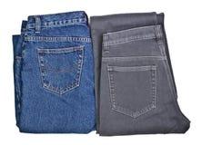 Deux paires de jeans image stock