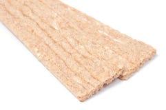 Deux parts de pain croustillant calorique inférieur Photos libres de droits