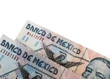 Deux pesos mexicains Images stock