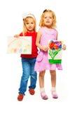 Affichant à enfants des images Photo libre de droits