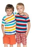 Deux petits amis de mode Photo stock