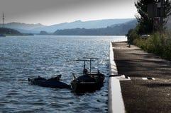 Deux petits bateaux Image libre de droits