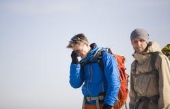 Deux photographes au travail Photo libre de droits