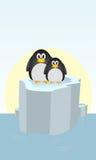 Deux pingouins Illustration Stock