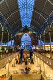 Deux points de Mercado à Valence image libre de droits