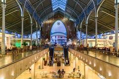 Deux points de Mercado à Valence images stock