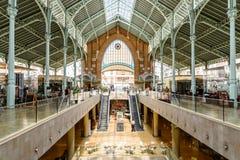 Deux points de Mercado à Valence images libres de droits