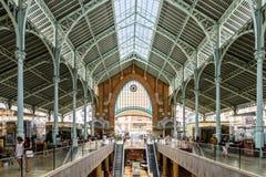 Deux points de Mercado à Valence image stock