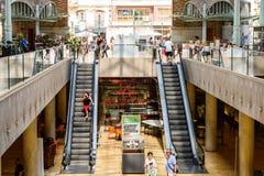 Deux points de Mercado à Valence photo libre de droits