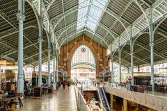 Deux points de Mercado à Valence photos stock