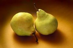 Deux poires Photo libre de droits