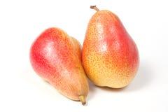 Deux poires mûres Image libre de droits