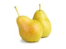 Deux poires pour la santé un couple Photos stock