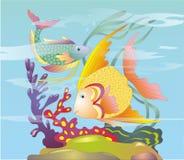 Deux poissons Images stock