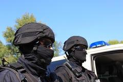 Deux policiers Photographie stock