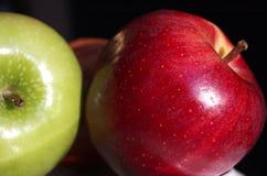 Deux pommes Image libre de droits