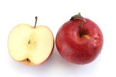 Deux pommes Photo stock