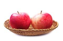 Deux pommes Photographie stock libre de droits
