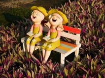 Deux poupées Photo libre de droits