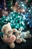 Deux poupées d'ours Photo stock