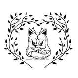 Deux renards Image libre de droits