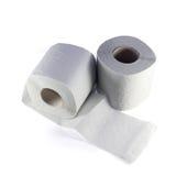 Deux rouleaux de papier hygiénique Photos libres de droits
