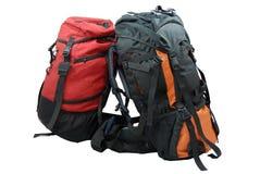 Deux sacs à dos de touristes Image libre de droits