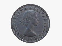 Deux shillings de pièce de monnaie Photographie stock libre de droits