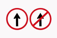 Deux signalisations de flèche Photographie stock