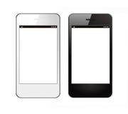 Deux Smartphones Image stock