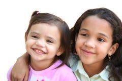Deux soeurs Image libre de droits