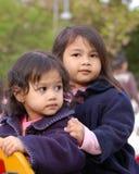 Deux soeurs Images libres de droits