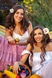 Deux soeurs et une culture riche Photos libres de droits