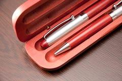 Deux stylos bille Photo libre de droits