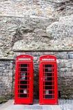 Deux téléphones Image stock