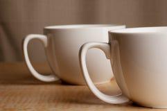Deux tasses Photographie stock libre de droits