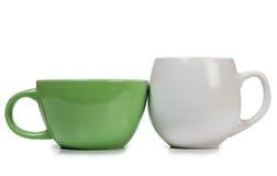 Deux tasses Image stock