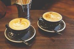 Deux tasses de café Image libre de droits