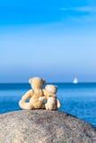 Deux Teddy Friends Image stock