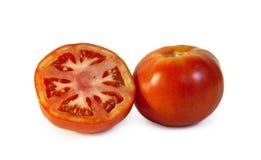 deux tomates sur le fond blanc photo libre de droits