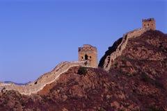 Deux tours de la Grande Muraille Images libres de droits