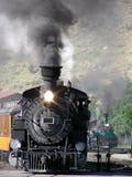 Deux trains Image libre de droits