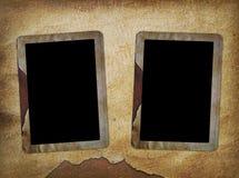 Deux trames pour la vieille photo illustration libre de droits