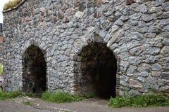 Deux tunnels d'entrée photos stock
