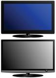 Deux TV Image stock