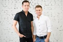 Deux types gais Photo libre de droits